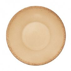 Bauscher Modern Rustic Deep Coupe Plate in Natural Sand